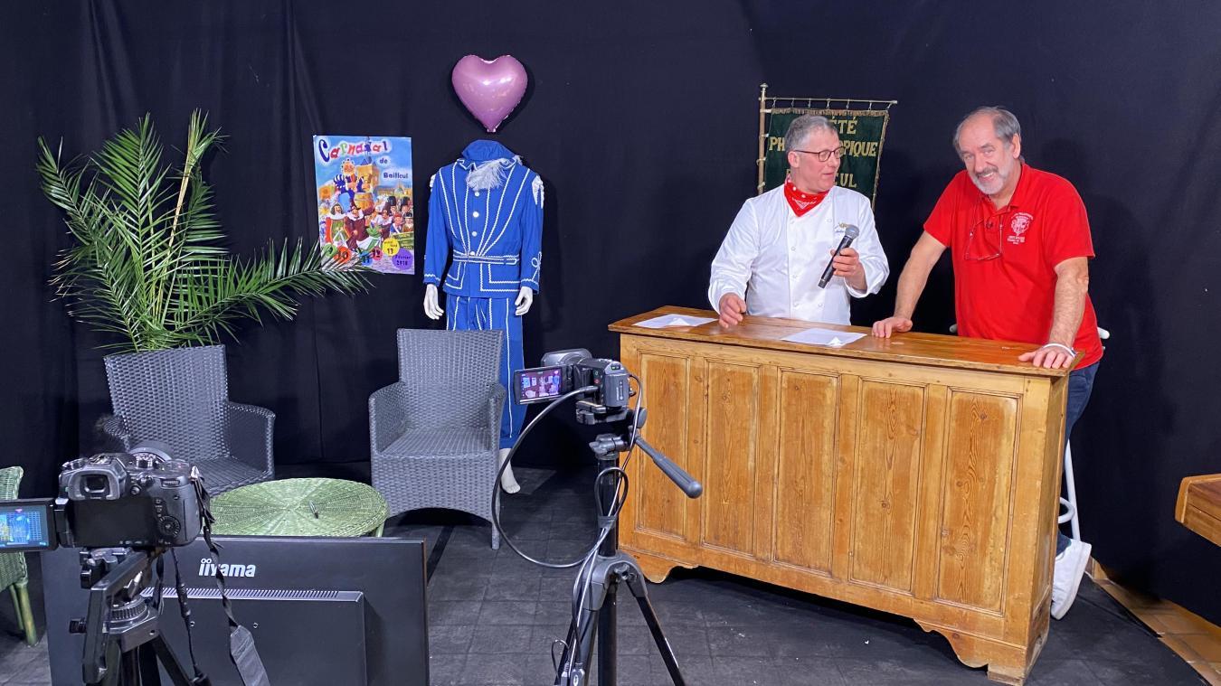 Christophe Fruleux (à droite) sur Gargantua TV.