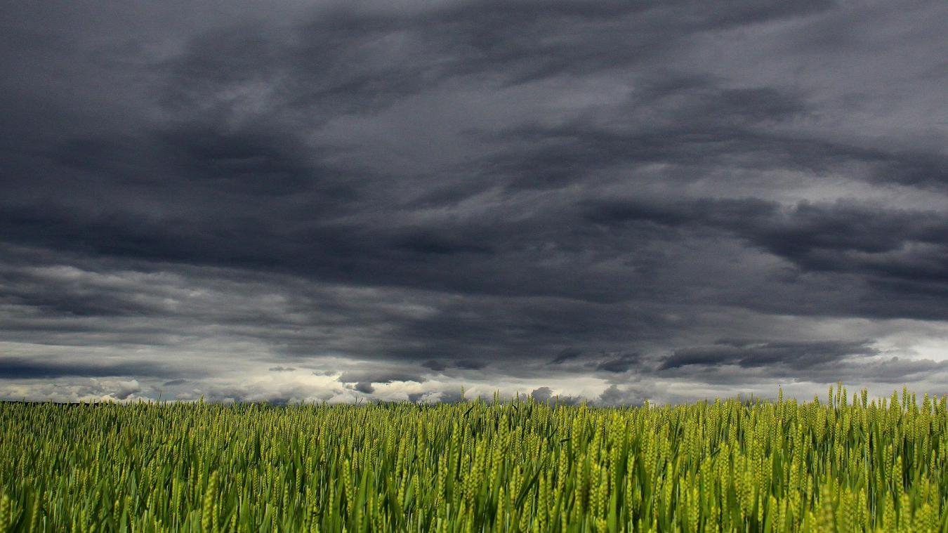 Des orages et de la grêle sont attendus sur la région mercredi soir