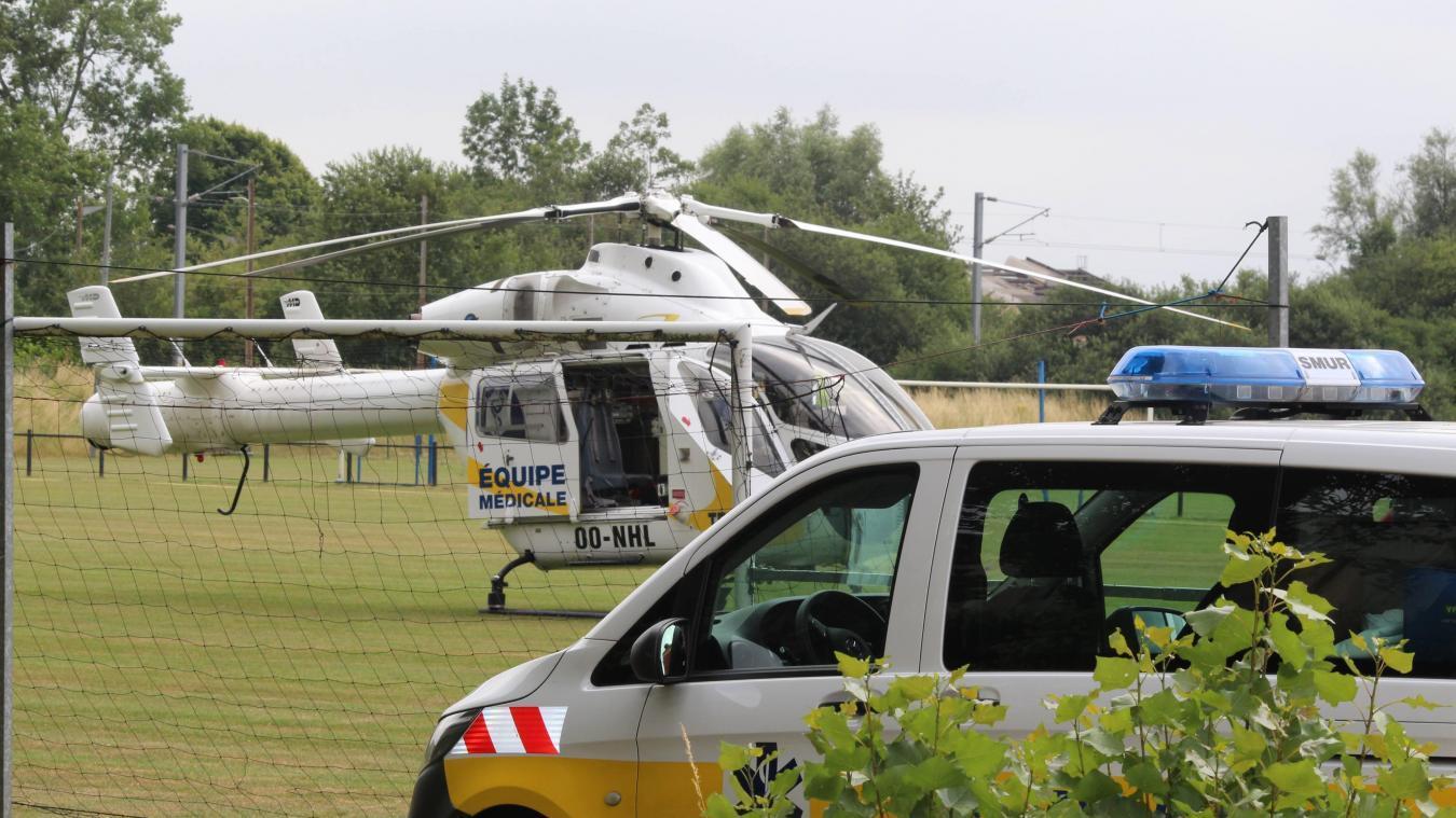 Gravement blessée, l'enfant a été héliportée vers le centre hospitalier régional de Lille. (Illustration)