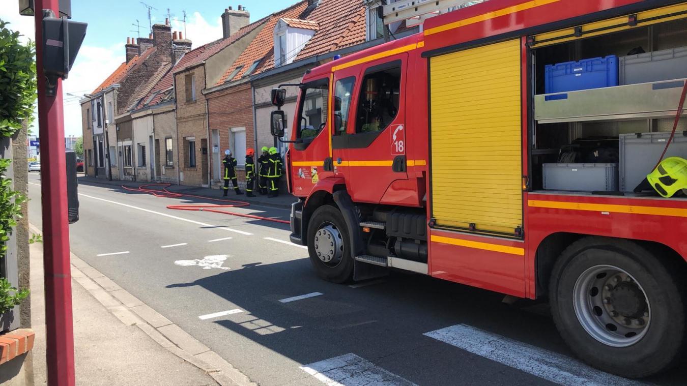 Calais: la rue de Lille bloquée à cause d'une fuite de gaz