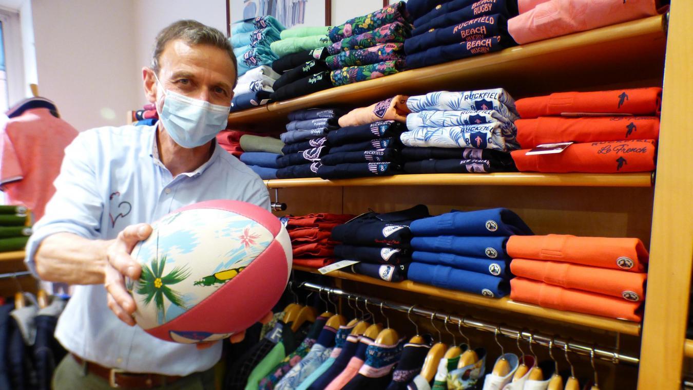 Tout l'univers du rugby chic chez Pascal Perelli.