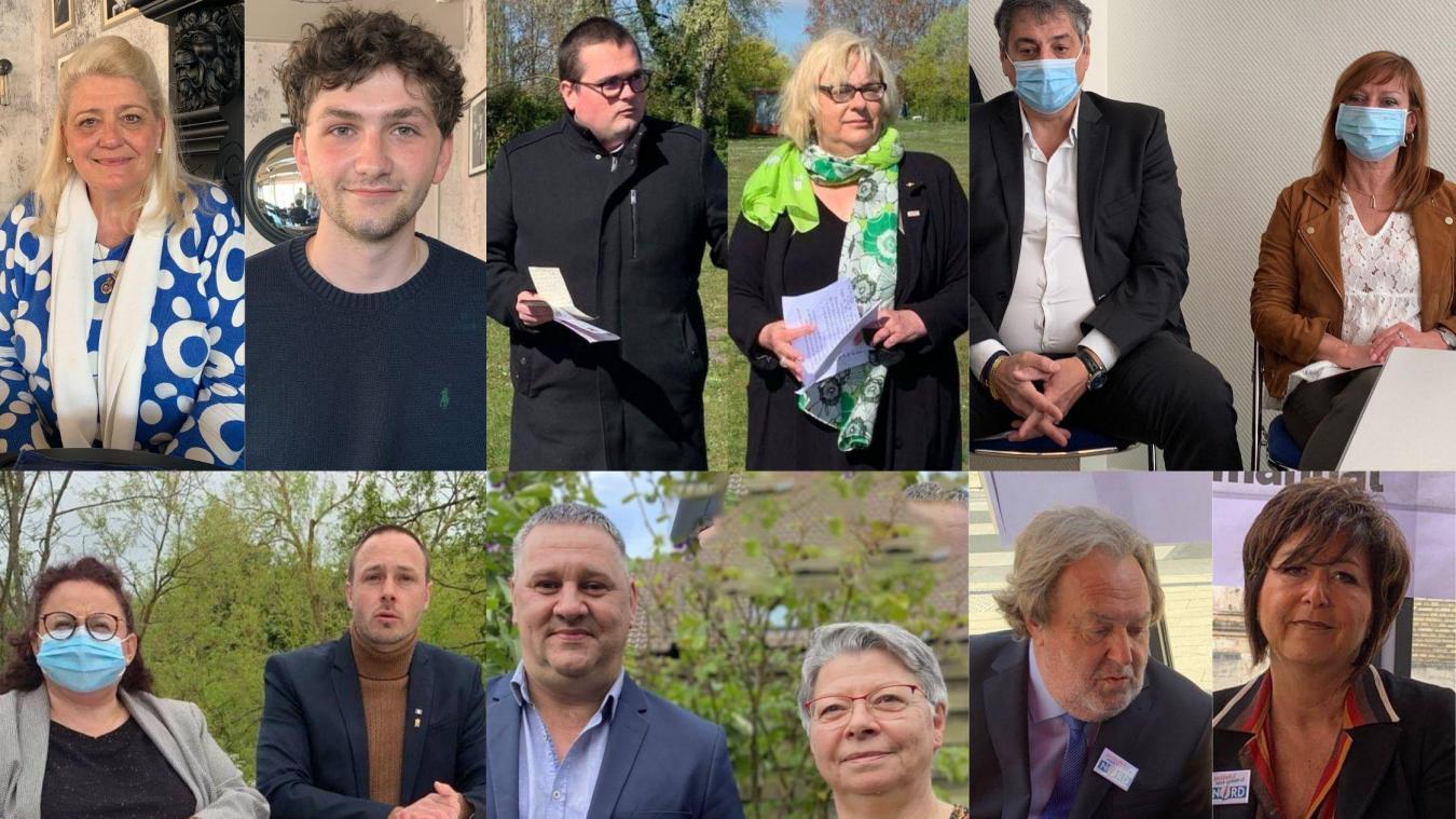Six binômes prêts à devenir conseillers départementaux dans le canton de Dunkerque 1, très prisé par les différents partis et mouvements politiques.