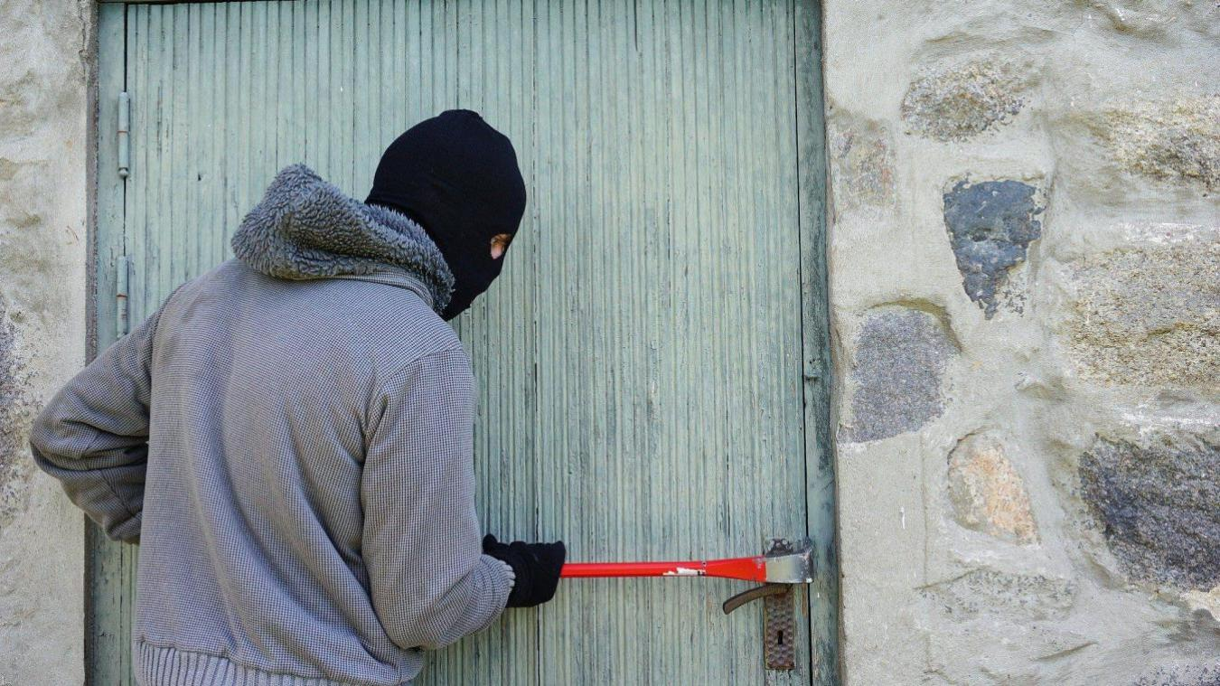 Les voleurs sont repartis avec un beau butin...