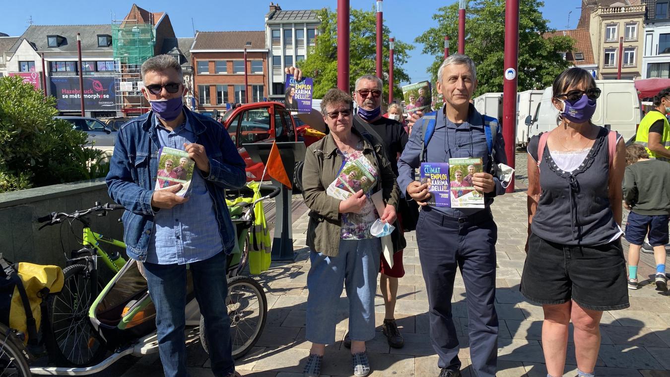 Béatrice Veit Torrez (PC) et Claude Hanquez (EELV) sont les visages de la gauche dans la course aux départementales pour le canton d'Hazebrouck.