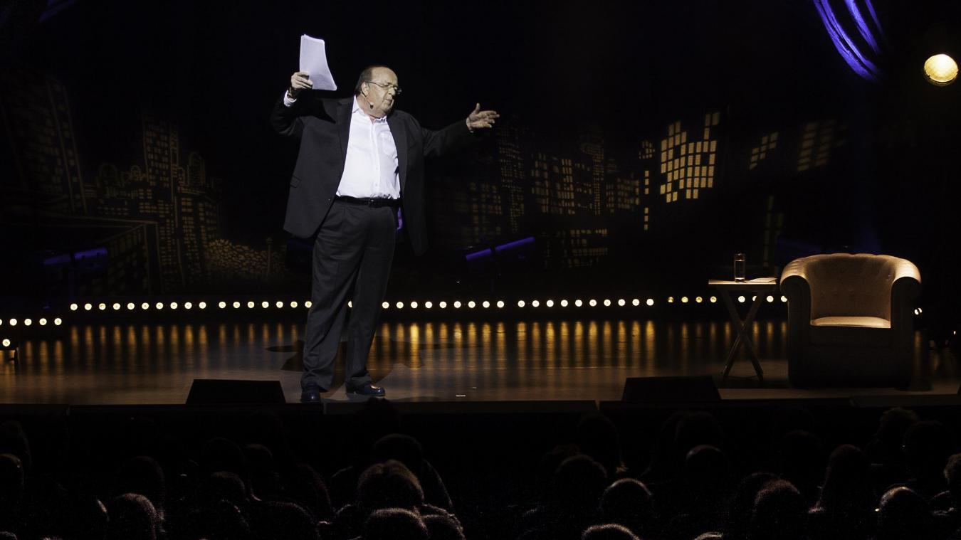 Pour son grand retour sur scène, l'humoriste Bernard Mabille sera au Colisée de Lens avec son nouveau spectacle, Fini de jouer. (Photo Emmanuel Delaloy).