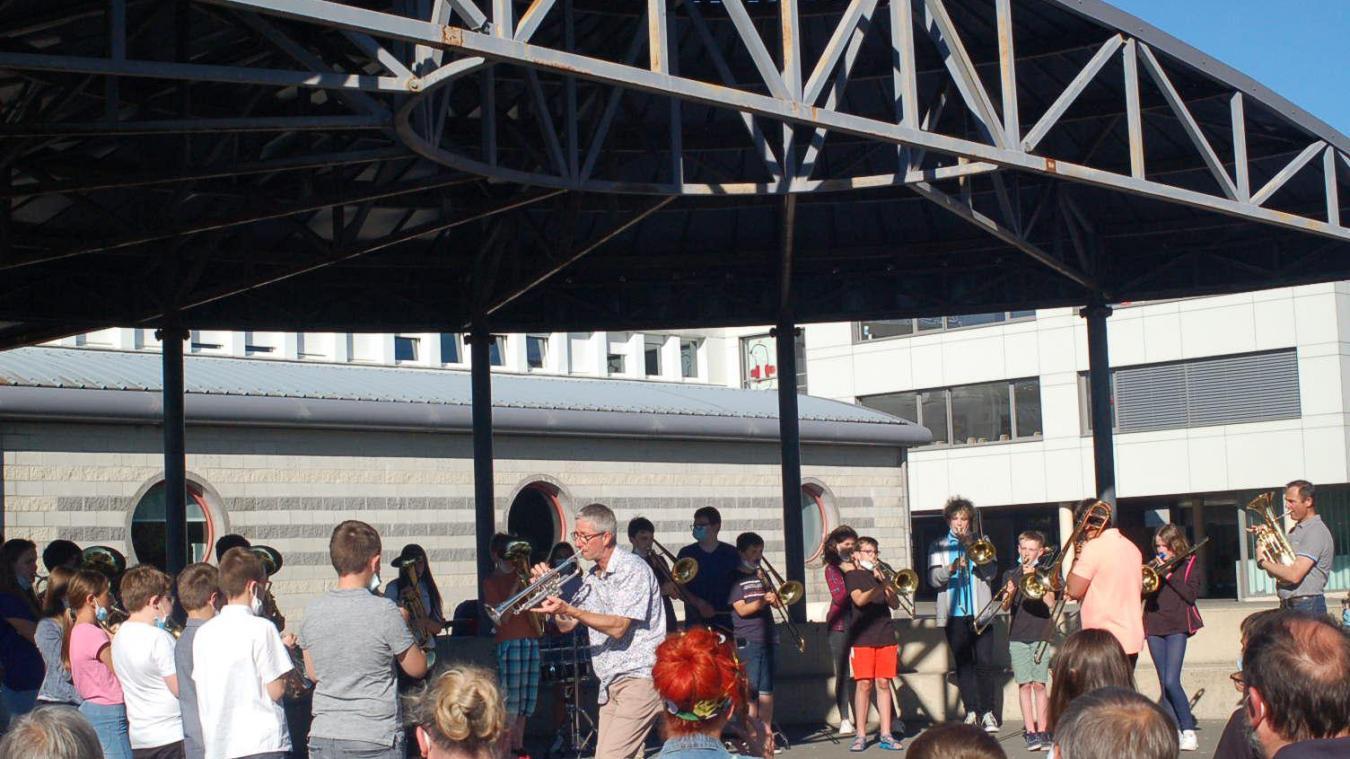 Thérouanne : Un avant-goût de la fête de la Musique avec un concert au collège