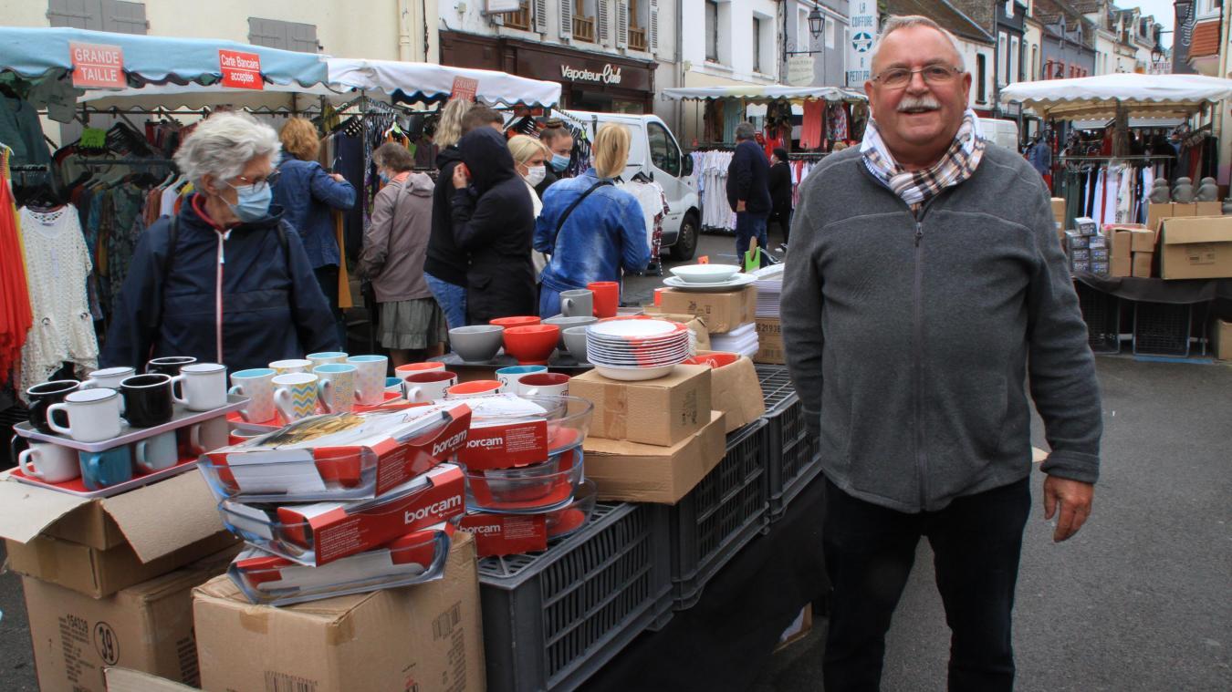 Le Vertonnois Serge Herbaut est l'une des figures du marché.