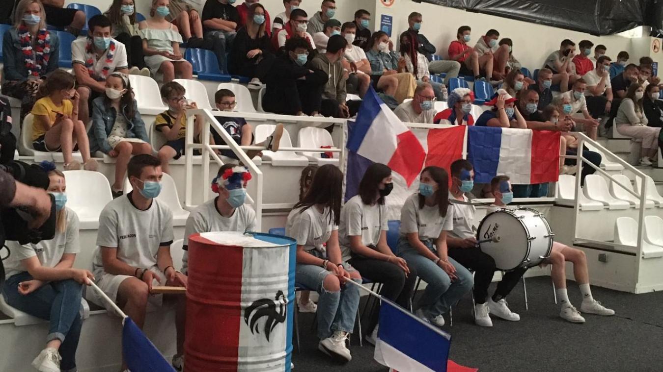 130 supporteurs pour le match Allemagne-France.