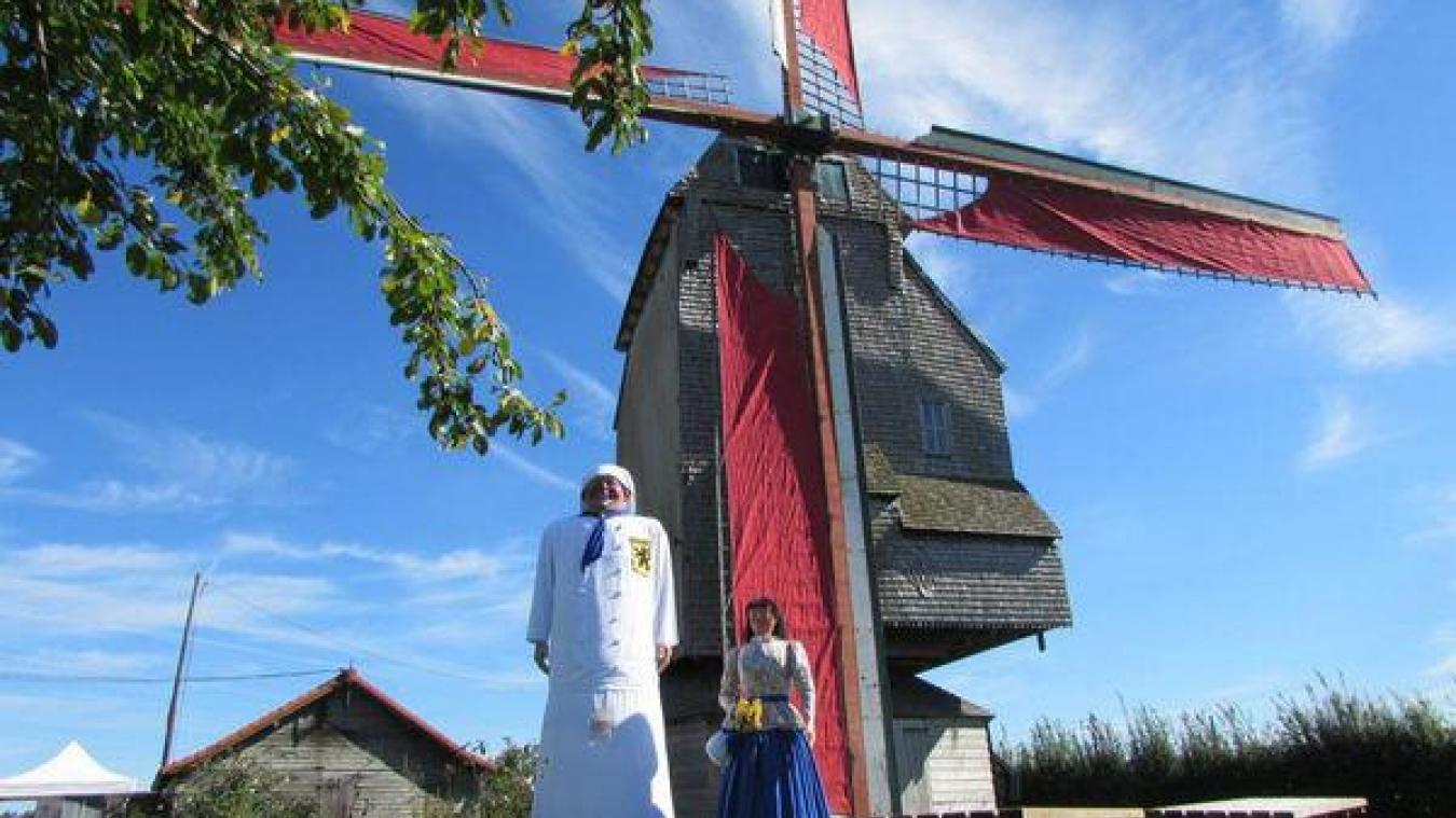 C'est le plus authentique des moulins à vent sur pivot de la région.
