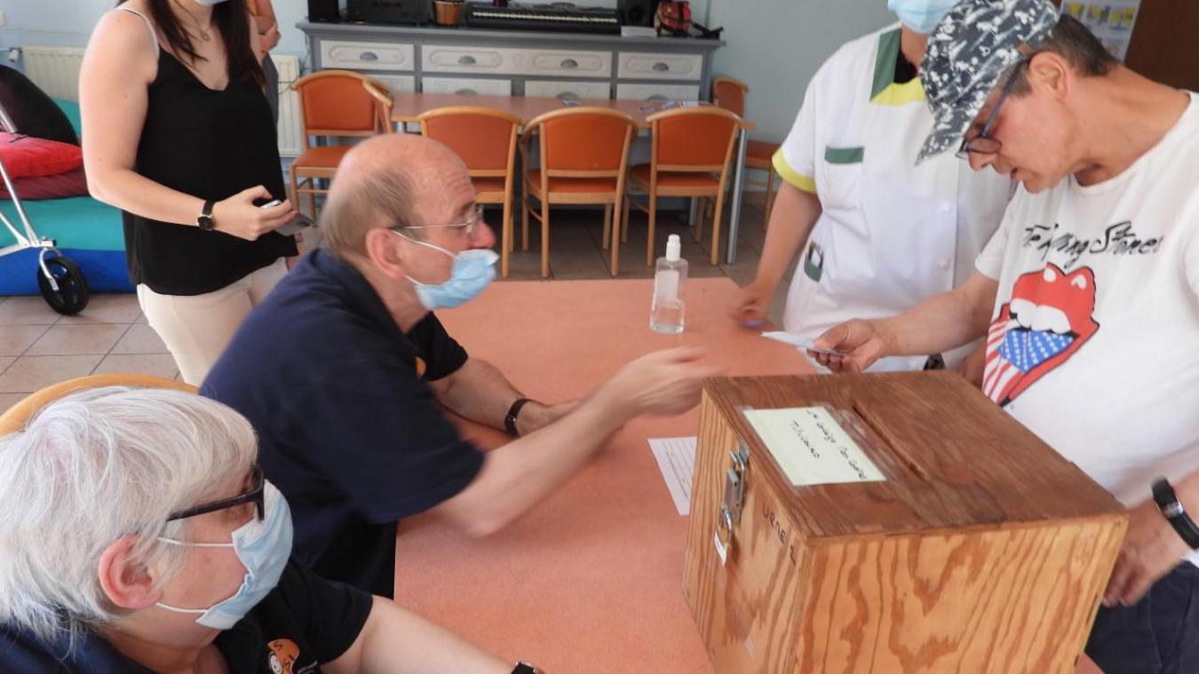 Les résidents du Relais des Moëres sont prêts à voter pour les prochaines élections.