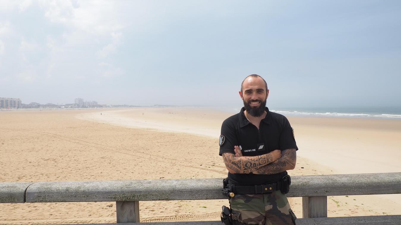 Tony Moreau est Calaisien et fait partie du Psig de Marck.