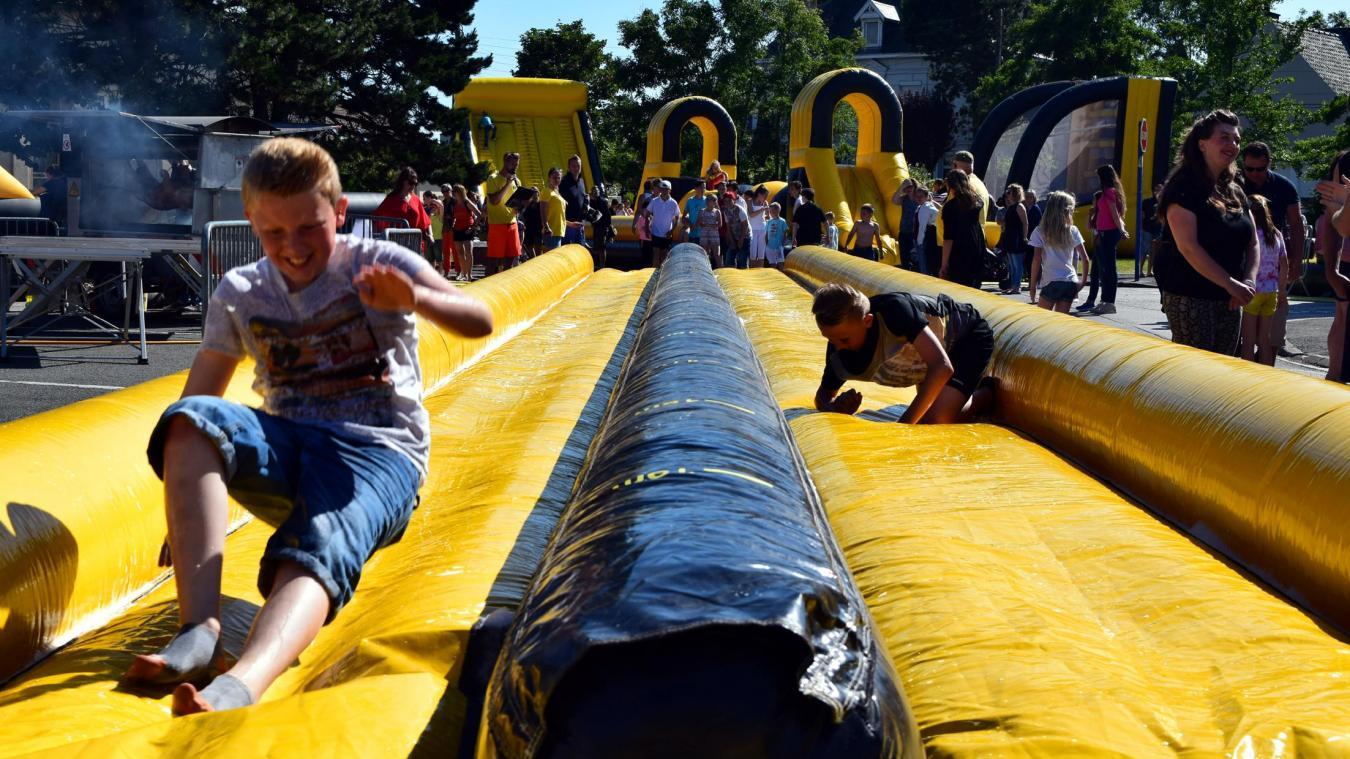 La fête de l'été, et ses structures gonflables, aura lieu le 26 juin.