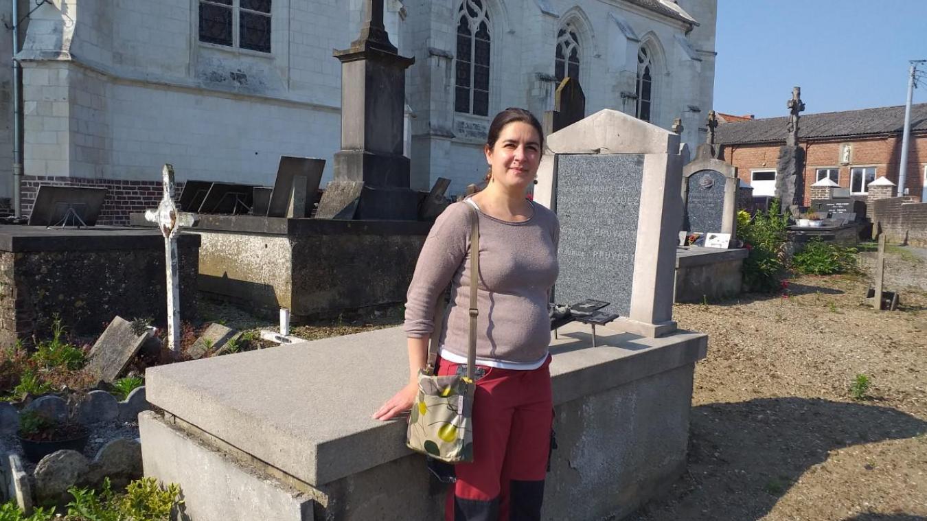 Cécile Albagnac Fontaine croit en la reconnaissance du patrimoine funéraire.