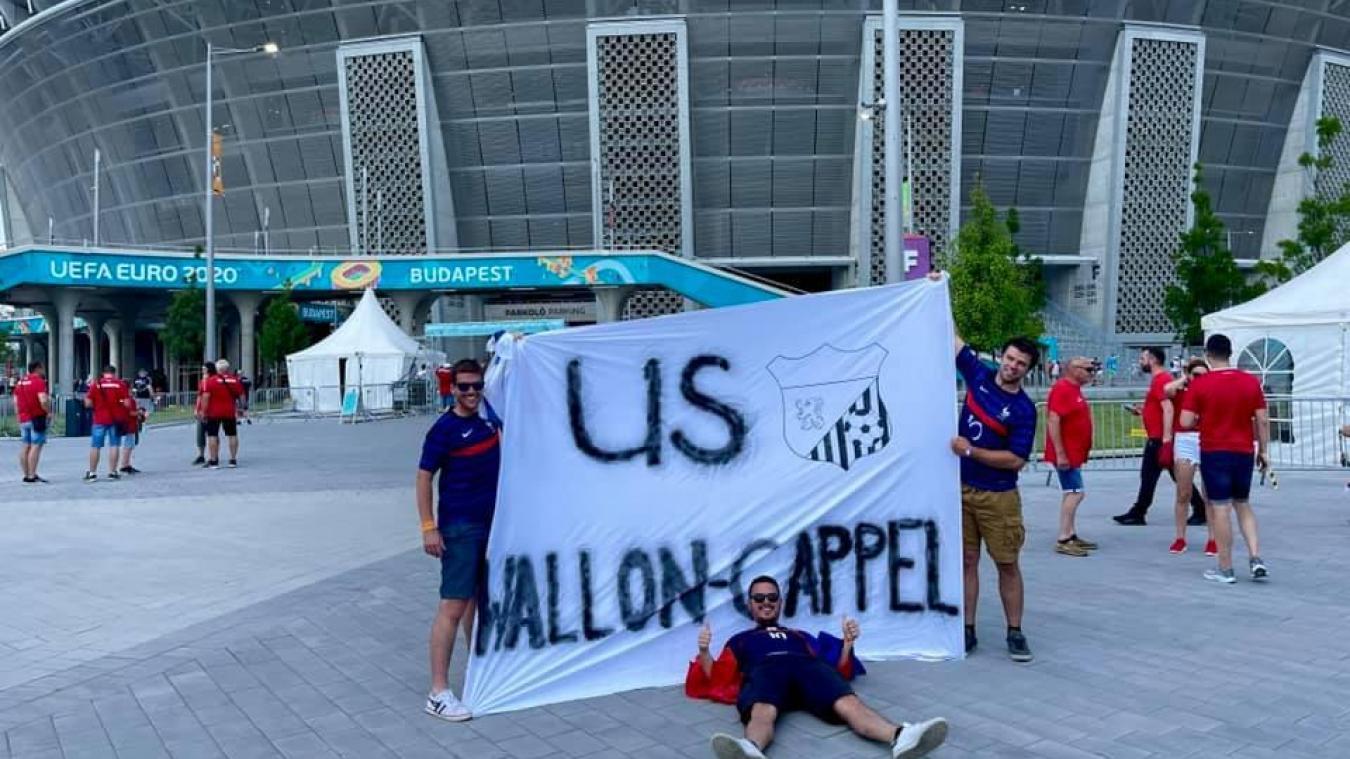 Euro 2020: l'US Wallon-Cappel au soutien des Bleus à Budapest