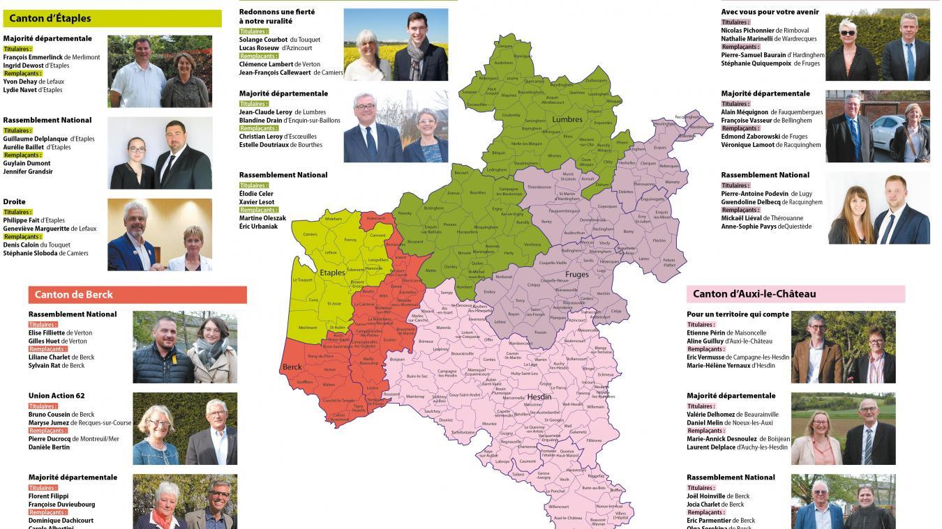 Montreuillois : le premier tour des élections départementales a lieu ce dimanche 20 juin