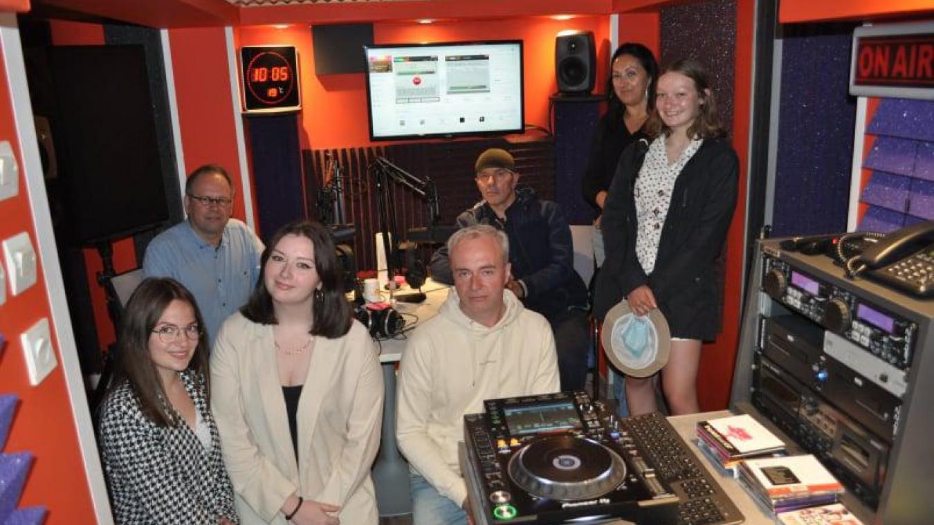 L'équipe de la webradio Radio des deux caps.