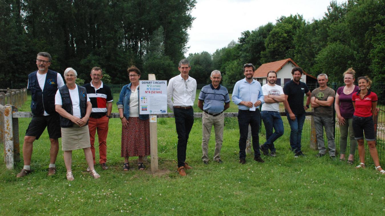 Le lancement de ces nouveaux s'est déroulé sur le site de la base de canoë-kayak de Beaurainchâteau.