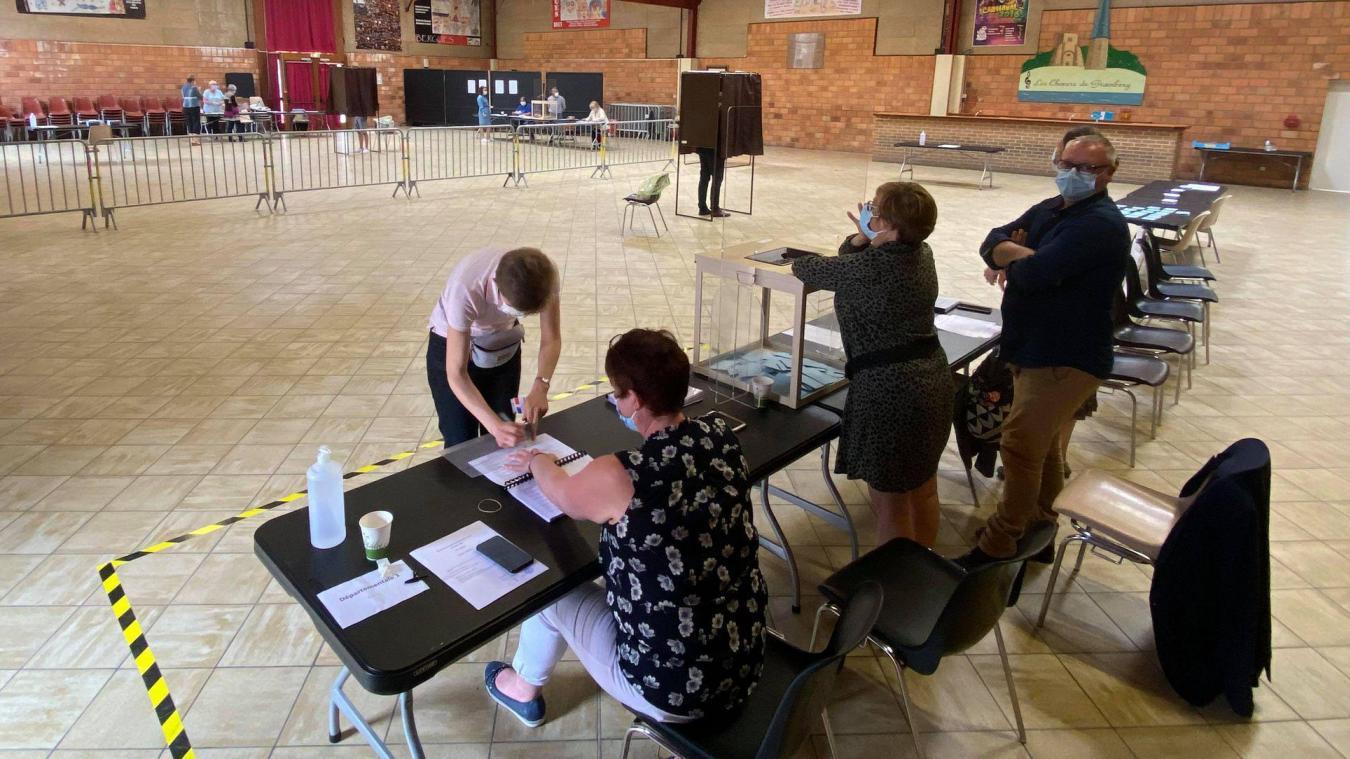 Peu de monde s'est déplacé ce matin pour aller voter...