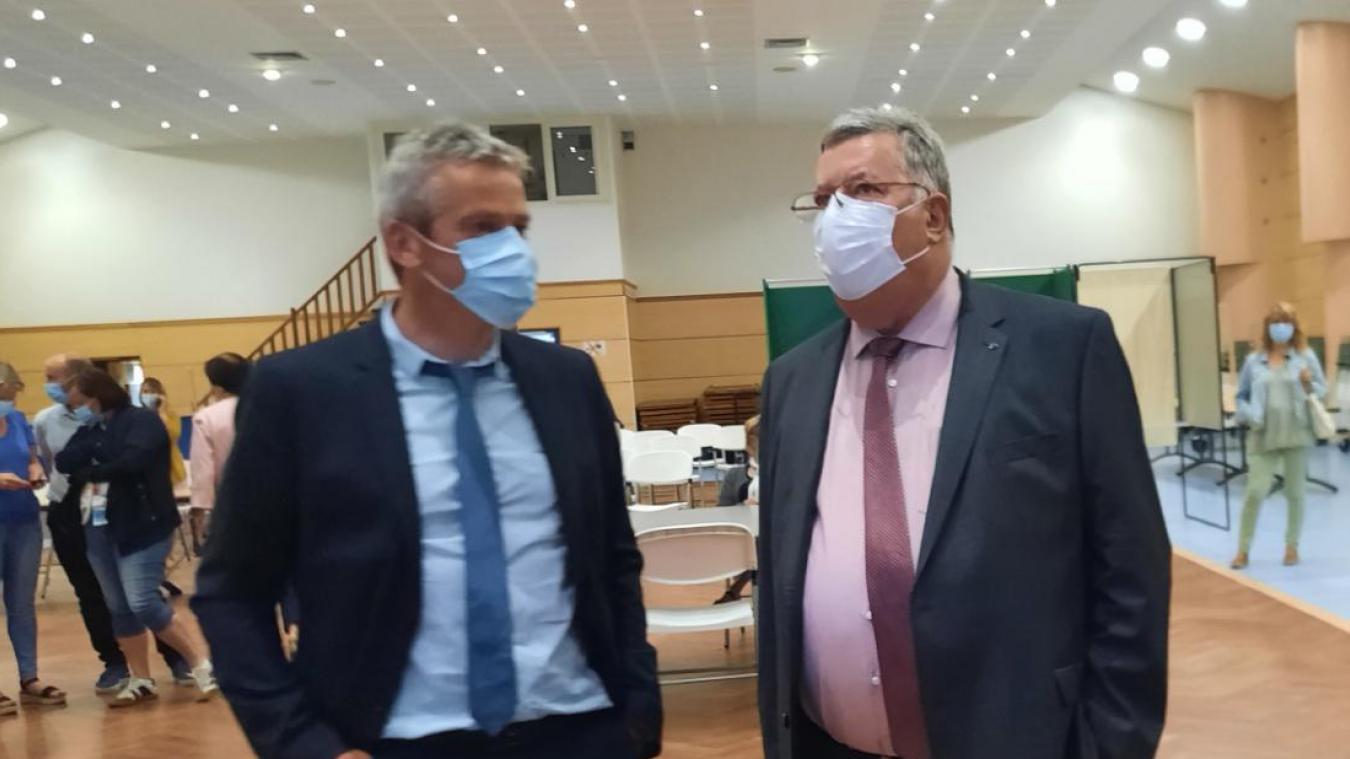Alain Méquignon et Nicolas Pichonnier seront face à face dimanche 27 juin à l'occasion du second tour des élections départementales pour le canton de Fruges.