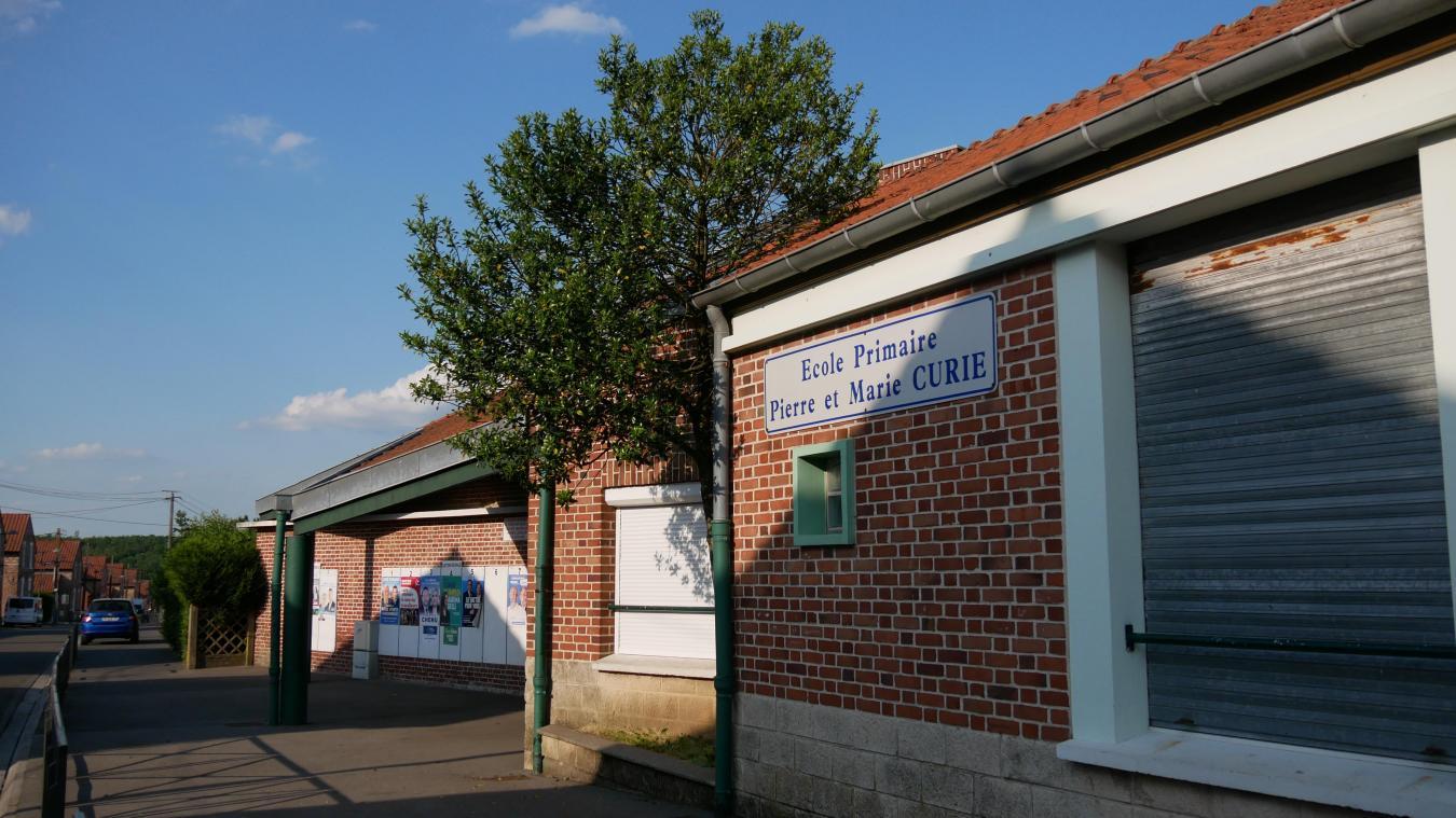 L'école Pierre et Marie Curie sera en chantier cet été.