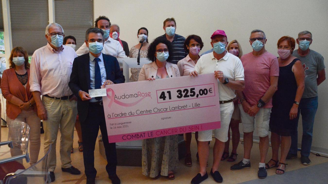 Près de 300 000 euros ont déjà été donnés au centre de lutte contre le cancer par l'association.