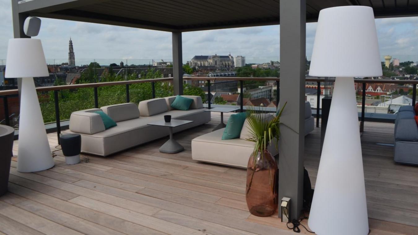 On a visité le rooftop de l'hôtel Ibis Styles avec vue imprenable sur Arras (vidéo)