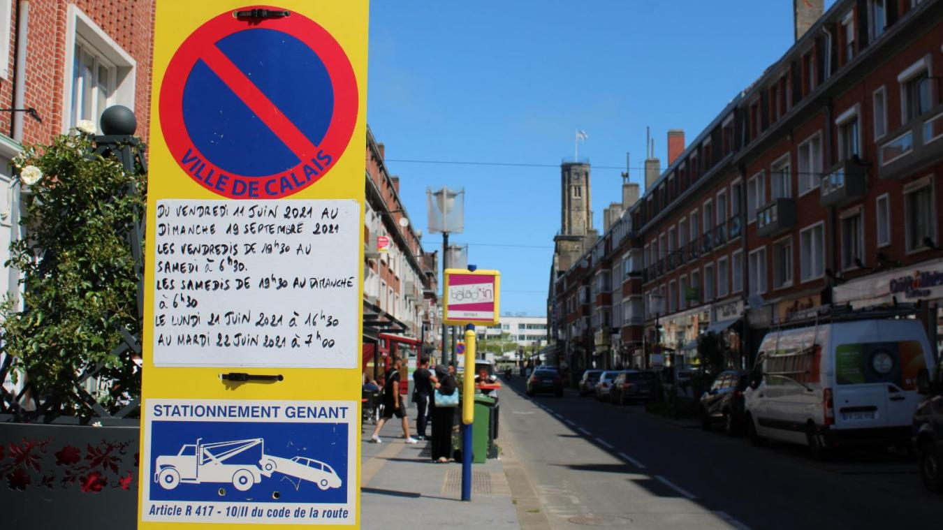 La piétonnisation d'une partie de Calais Nord est effective depuis le vendredi 11 juin.