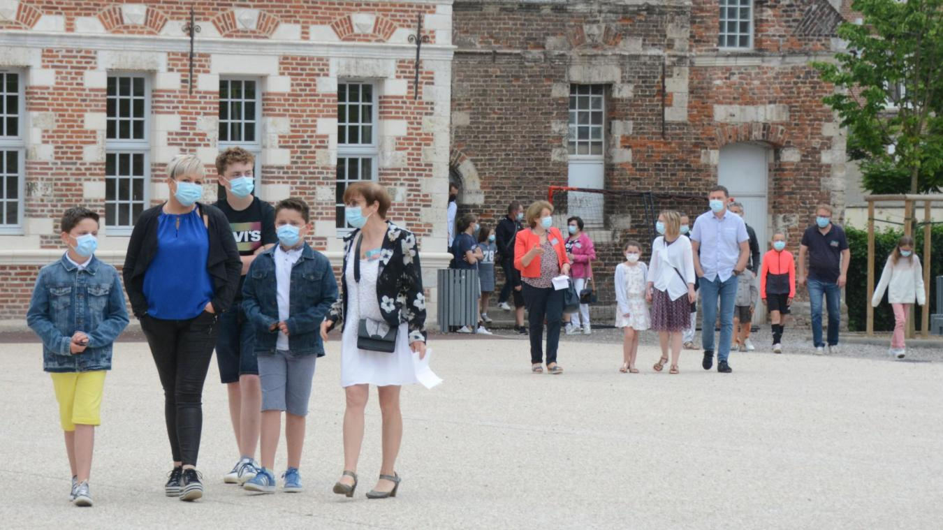 Le collège Sainte-Marie à Aire-sur-la-Lys a ouvert ses portes aux familles des futurs élèves.