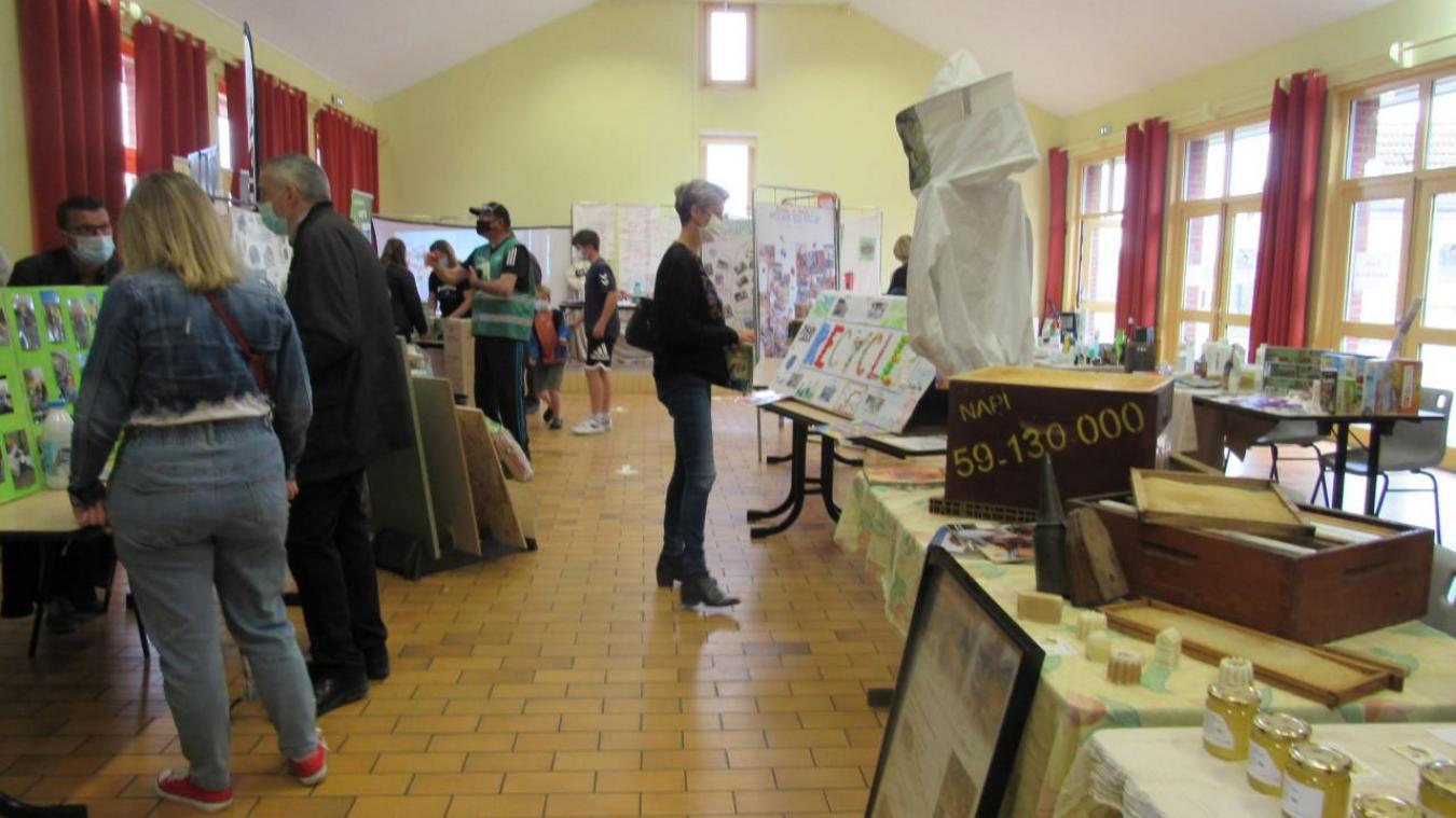 Une exposition sur le recyclage et la protection de l'environnement a eu lieu à Cappellebrouck début juin.