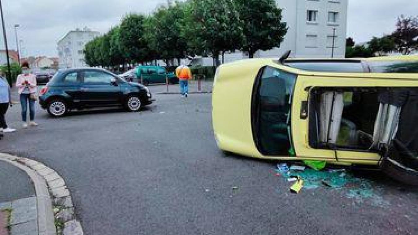 Un refus de priorité serait à l'origine de l'accident ce mardi en début d'après-midi.