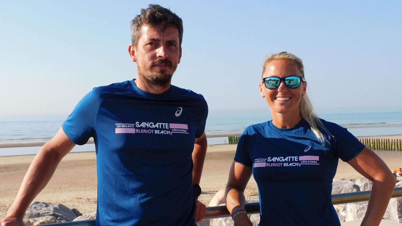 Pauline Mazzia et Pascal Gressier dispensent en juillet et août des cours de natation.
