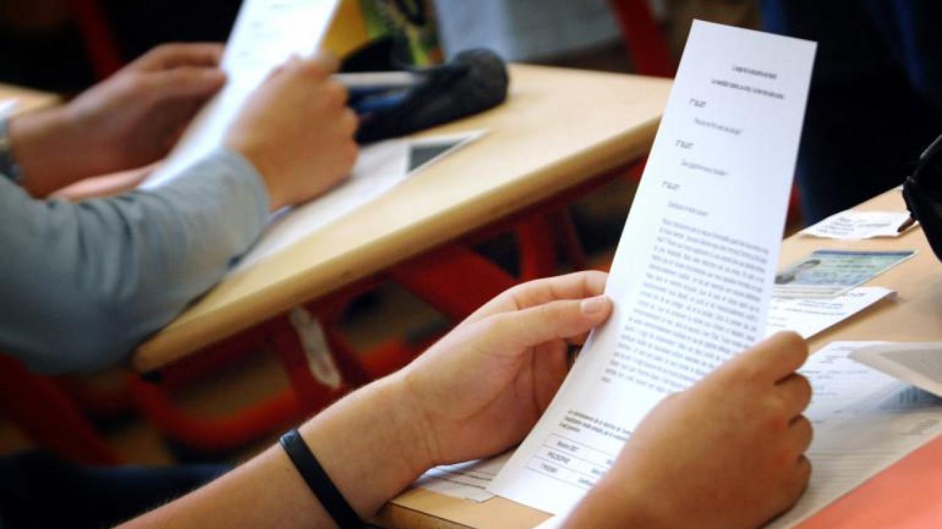 L'organisation de l'examen du bac pose des questions (photo d'illustration).