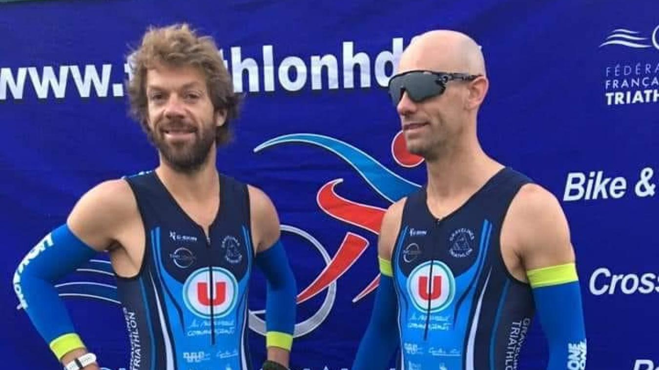 Le Dunkerquois Olivier Lyoen et l'Hazebrouckois Antoine Pérel participeront aux prochains Jeux paralympiques en août.