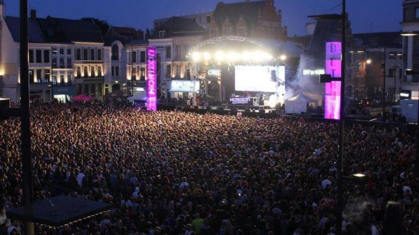 Près de 22 000 personnes étaient venues, en 2019, danser sur les prouesses musicales de Ofenbach, The Aveners et Feder sur la Grand'Place.