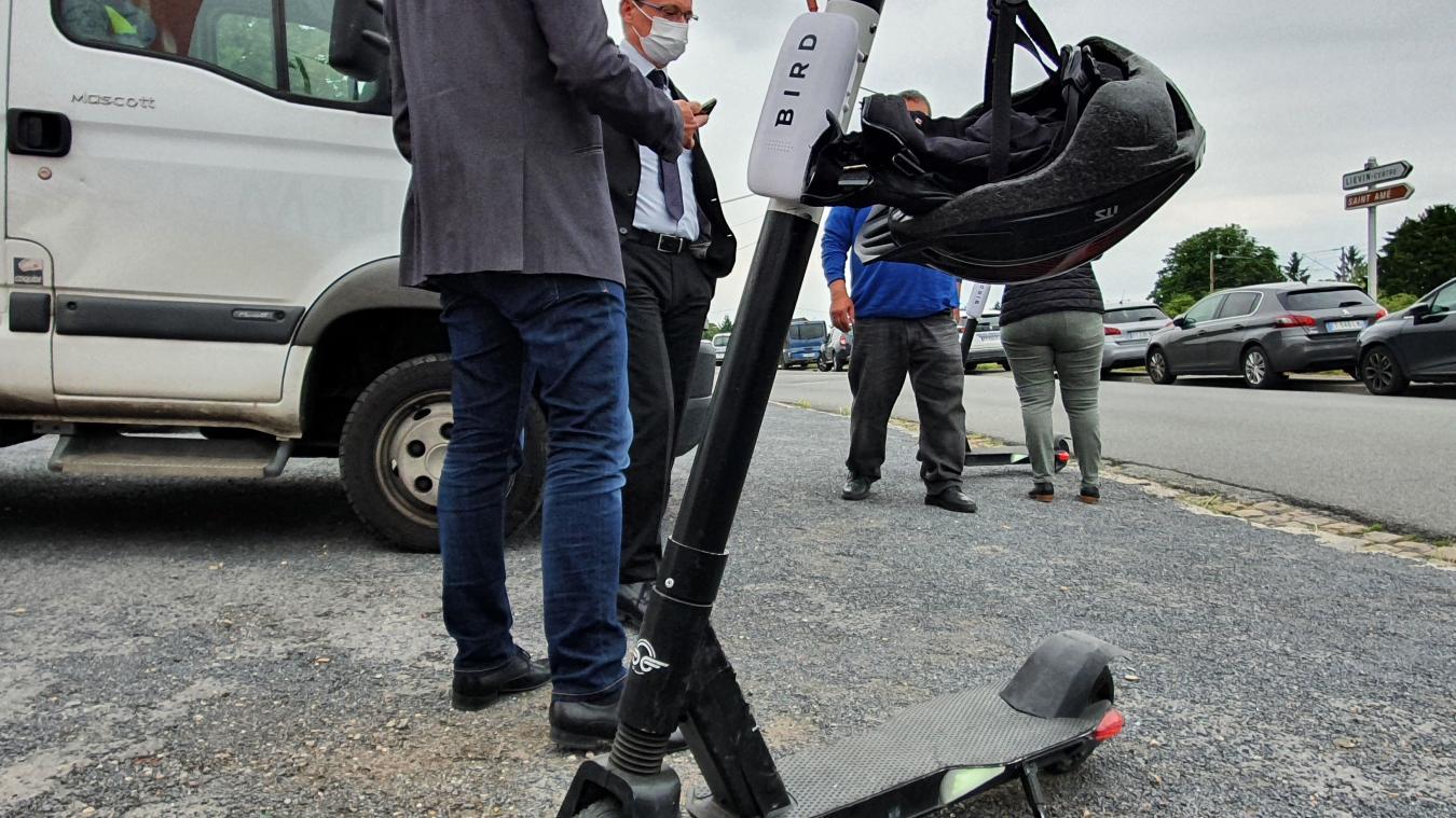 Liévin : les trottinettes électriques Bird sont désormais en libre-service