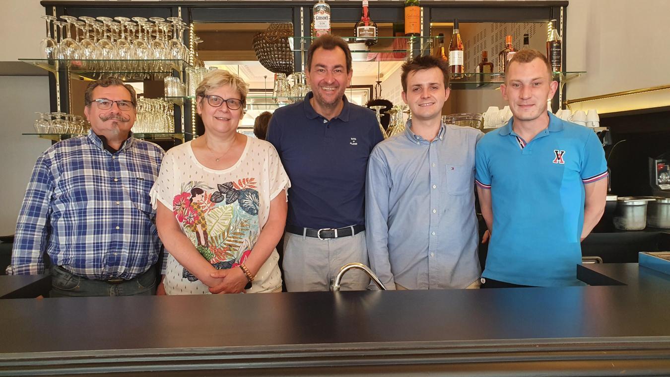 Après la réouverture de l'hôtel, c'est celle de son restaurant le 1er juillet que prépare l'équipe de l'établissement, qui compte un nouveau chef, Alexis Saint-Georges.