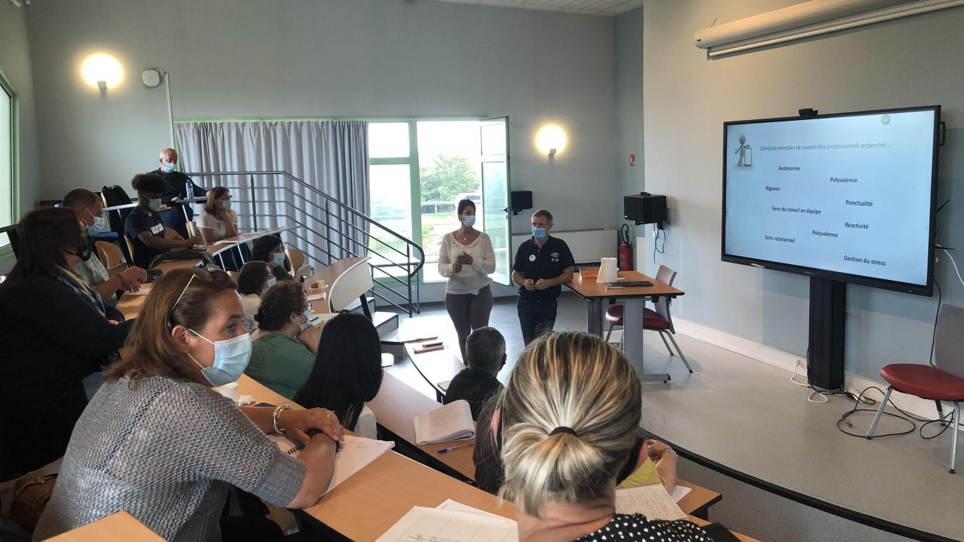 Pôle Emploi et la CMA ont organisé une réunion d'information axé sur l'hôtellerie et la restauration.