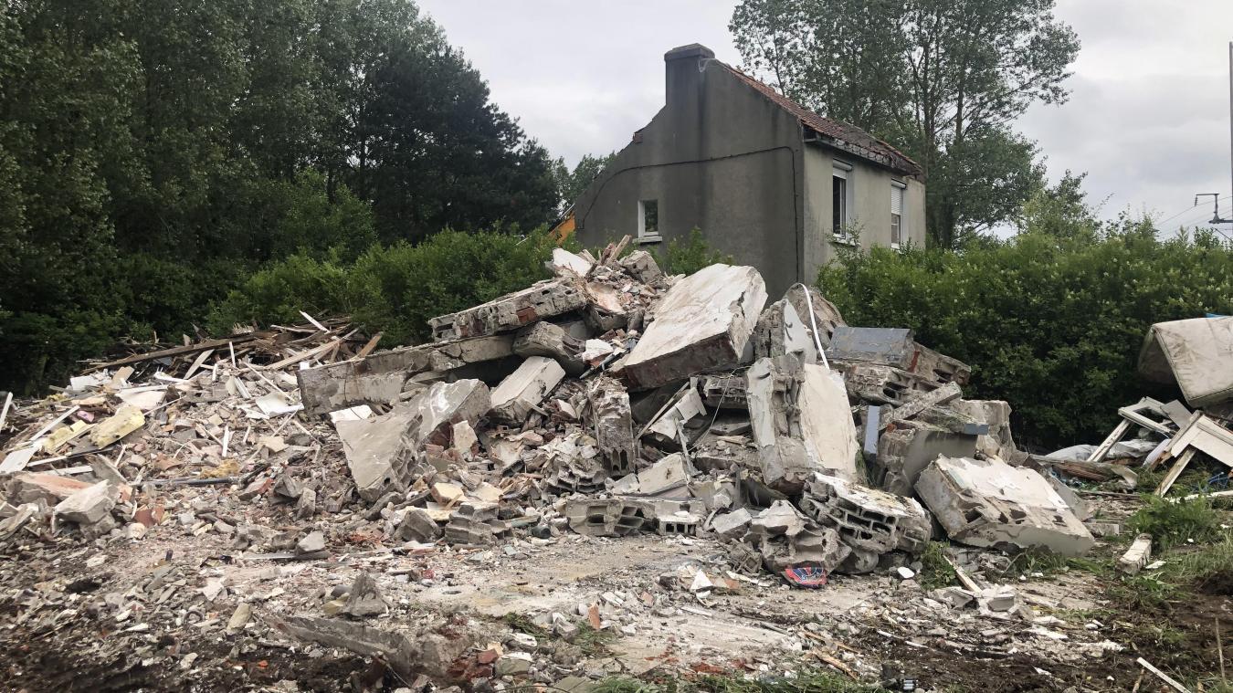Au total, trois maisons devront être détruites route de Coulogne.