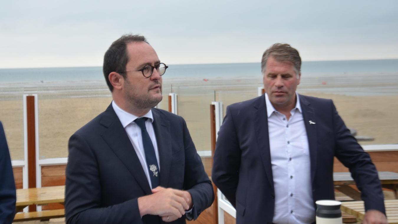 Vincent Van Quickenborne, vice-Premier ministre et ministre de la Justice et de la Mer du Nord belge, a annoncé que son pays attaquait l'État français et les promoteurs en justice.