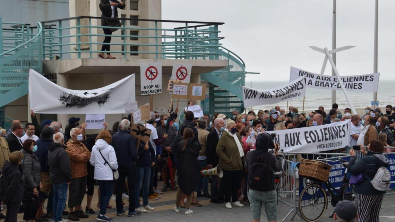 Des communistes étaient présents dans la manifestation de samedi, mais pas Delphine Castelli.