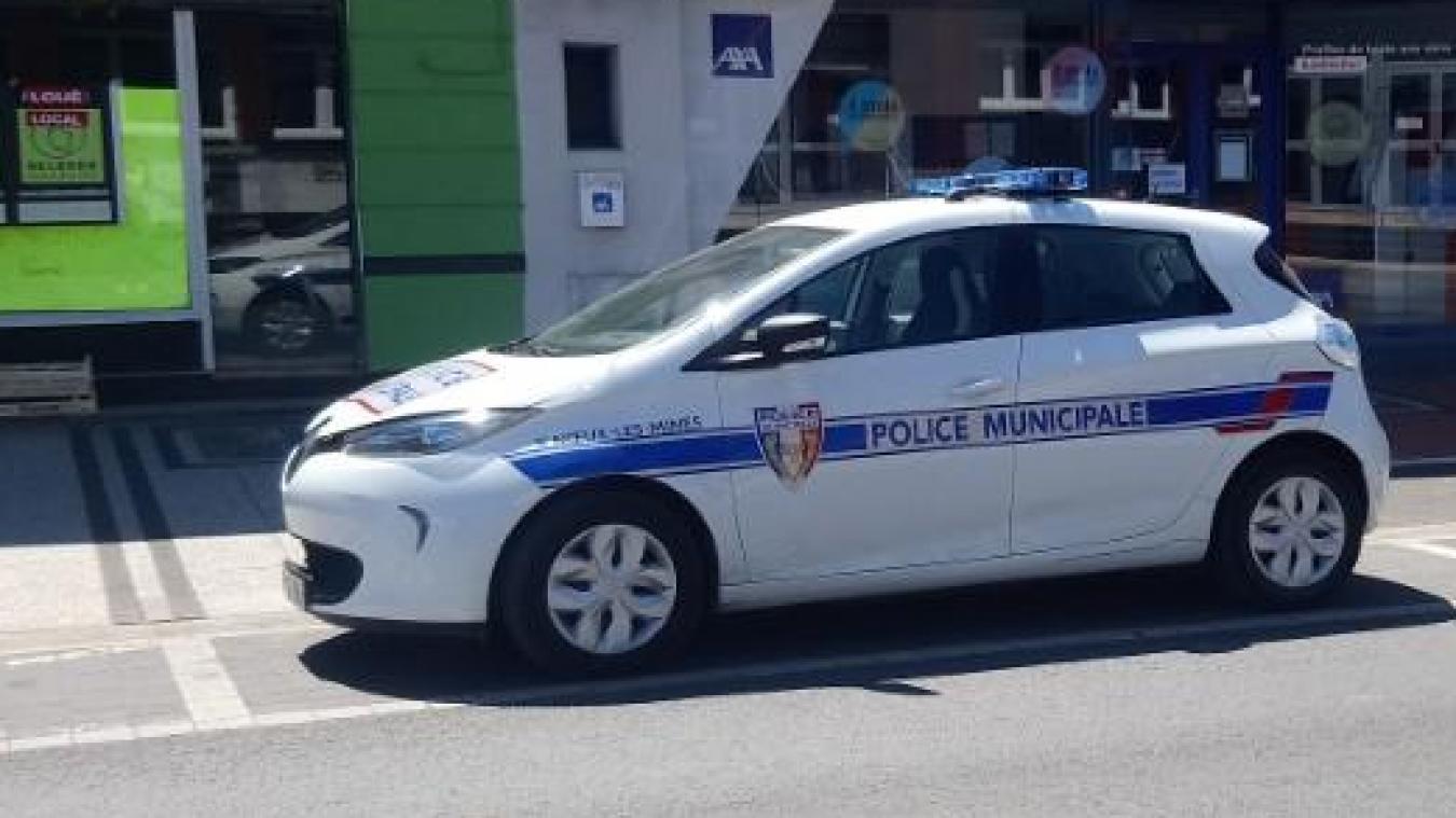 La police municipale a été équipée d'un véhicule électrique en mai dernier.