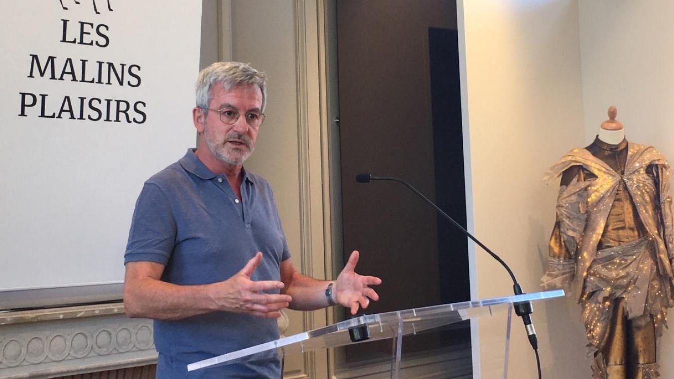 Vincent Tavernier, directeur artistique du Festival Les Malins Plaisirs, a présenté la programmation 2021 au sein de l'Hôtel Acary de la Rivière.