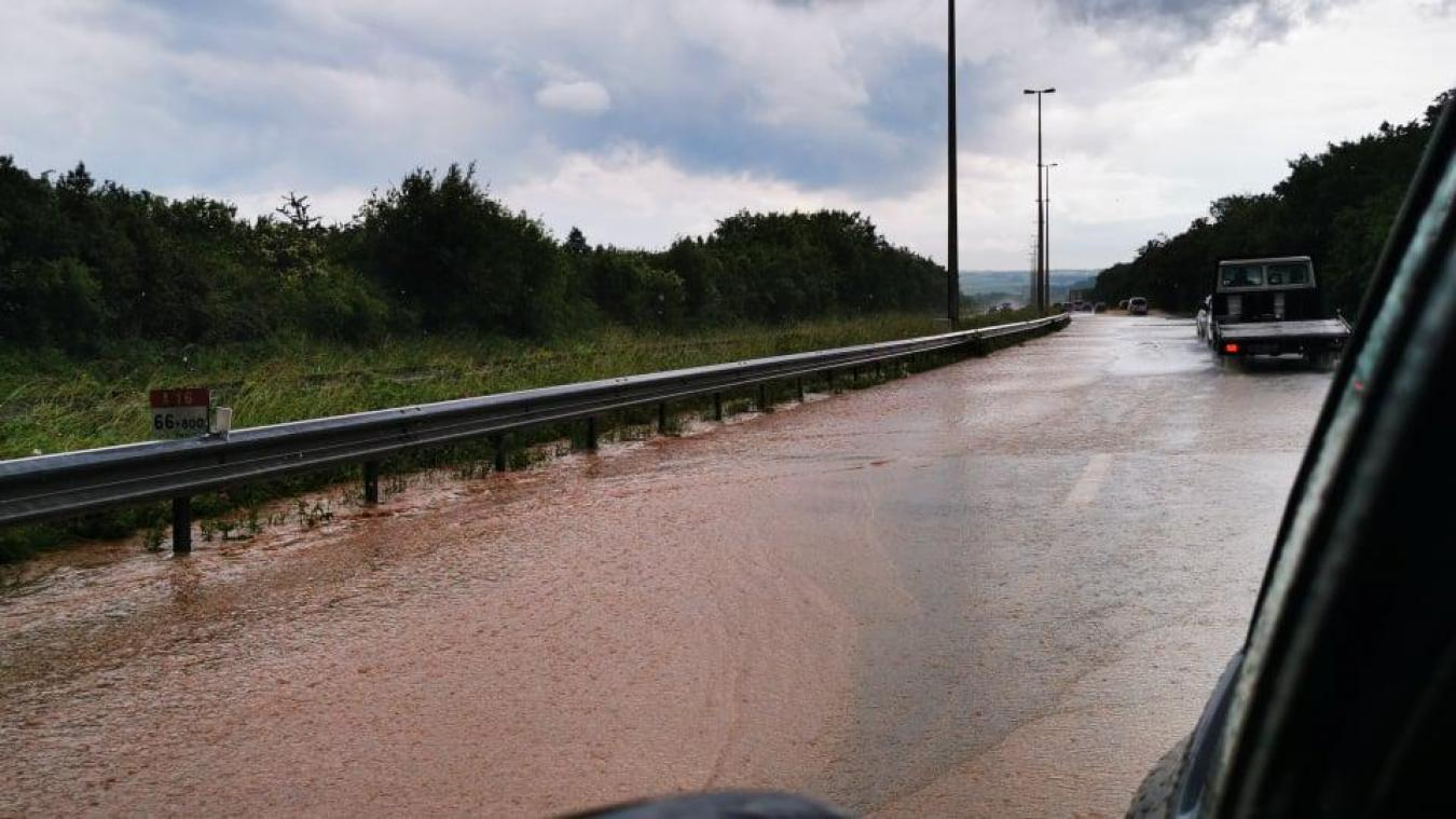 Cette photo a été prise sur l'A16, entre Saint-Inglevert et Marquise.