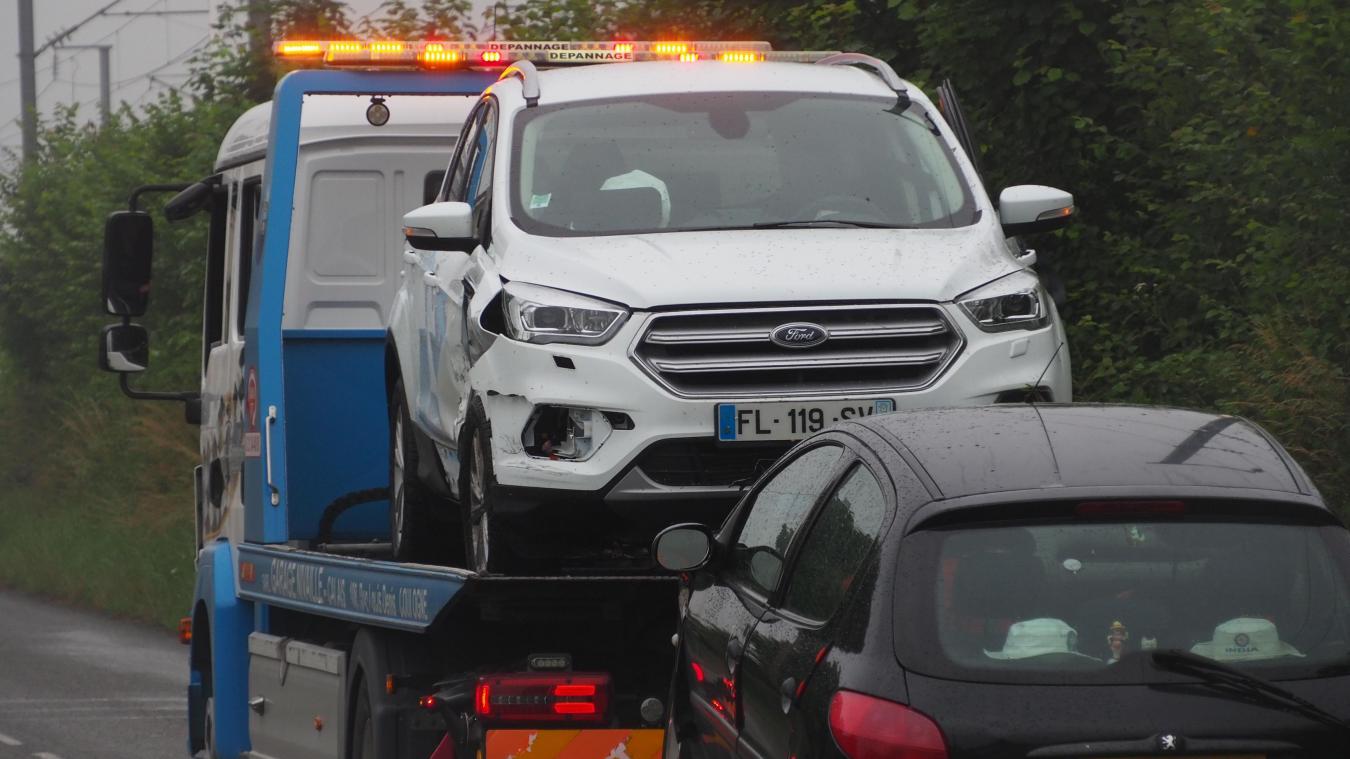 Un accident de la circulation s'est produit route d'Andres, aux Attaques.