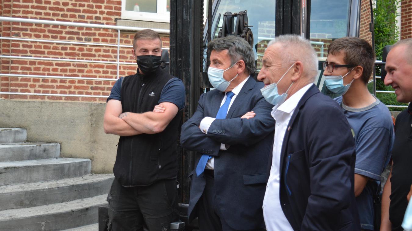 Jean-Pascal Scalone avait passé sa soirée au bureau centralisateur de Béthune, dimanche 20 juin.