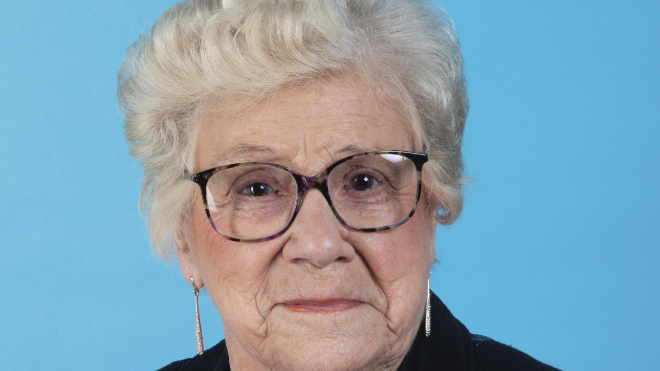 Jacqueline Dewet a été réélue lors des élections de 2020 sur la liste de Natacha Bouchart.