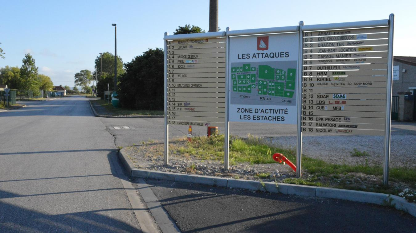 La zone des Estaches est l'un des 4 sites où seront installées des caméras.