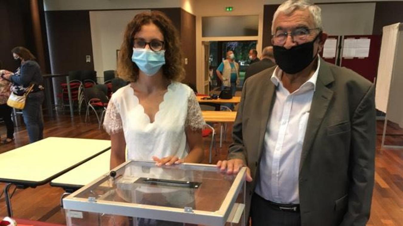 Canton de Longuenesse : standing ovation pour Benoît Roussel en mairie d'Arques, Rachid Ben Amor vaincu