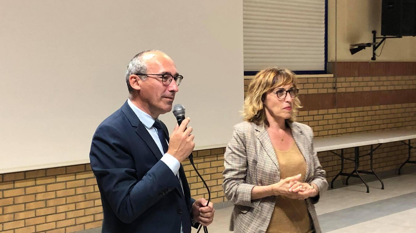 Martine Arlabosse et Paul Chistophe sont réélus au Département.