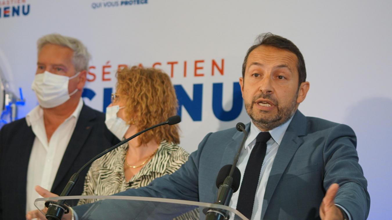Sébastien Chenu était à Bruay-la-Buissière pour cette soirée électorale du dimanche 27 juin.